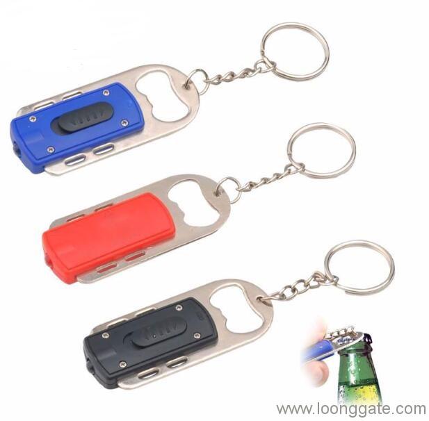 led keychain flash light with bottle opener. Black Bedroom Furniture Sets. Home Design Ideas